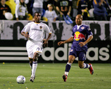 May 2, 2009, New York Red Bulls vs Los Angeles Galaxy - Edson Buddle Photographic Print by German Alegria