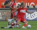 Sep 21, 2008, FC Dallas vs Chicago Fire - Justin Mapp Photographic Print by Brian Kersey