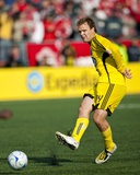 May 2, 2009, Columbus Crew vs Toronto FC - Chad Marshall Photographic Print by Paul Giamou