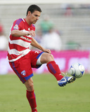 Sep 30, 2009, New England Revolution vs FC Dallas - Heath Pearce Photographic Print by Rick Yeatts