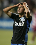 May 3, 2008, FC Dallas vs San Jose Earthquakes - Shea Salinas Photographic Print by Sara Wolfram