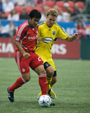 Sep 13, 2008, Columbus Crew vs Toronto FC - Chad Marshall Photo by Paul Giamou
