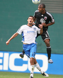 Sep 28, 2009, San Jose Earthquakes vs D.C. United - Chris Wondolowski Photographic Print by Tony Quinn