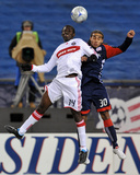 Oct 17, 2009, Chicago Fire vs New England Revolution - Kevin Alston Photographic Print by Keith Nordstrom