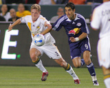 May 8, 2007, Los Angeles Galaxy vs New York Red Bulls - Ty Harden Photographic Print by German Alegria