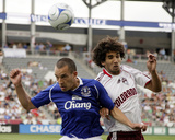 Aug 3, 2008, Everton FC vs Colorado Rapids - Mehdi Ballouchy Photo by Garrett Ellwood