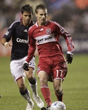 Oct 22, 2009, Chivas USA vs Chicago Fire - Chris Rolfe Photo by Brian Kersey