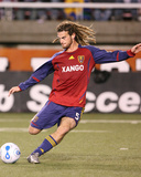 Oct 6, 2007, Chivas USA vs Real Salt Lake - Kyle Beckerman Photographic Print by Melissa Majchrzak