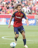 May 6, 2009, Los Angeles Galaxy vs Real Salt Lake - Kyle Beckerman Photographic Print by Melissa Majchrzak