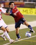 Oct 6, 2007, Chivas USA vs Real Salt Lake - Fabian Espindola Photographic Print by Melissa Majchrzak