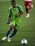 May 16, 2009, Seattle Sounders FC vs FC Dallas - Steve Zakuani Photo by Ronald Martinez
