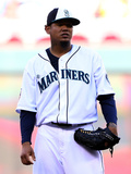 85th MLB All Star Game: Jul 15, 2014 - Felix Hernandez Photographic Print by  Elsa