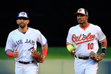 85th MLB All Star Game: Jul 15, 2014 - Jose Bautista Photographic Print by Rob Carr