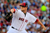 85th MLB All Star Game: Jul 15, 2014 - Jon Lester Photographic Print by Rob Carr