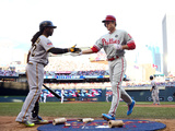 85th MLB All Star Game: Jul 15, 2014 - Chase Utley Photographic Print by  Elsa