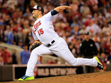 85th MLB All Star Game: Jul 15, 2014 - Glen Perkins Photographic Print by Rob Carr