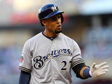 85th MLB All Star Game: Jul 15, 2014 - Carlos Gomez Photographic Print by  Elsa