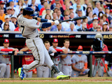 85th MLB All Star Game: Jul 15, 2014 - Carlos Gomez Photographic Print by Rob Carr