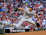 85th MLB All Star Game: Jul 15, 2014 - Clayton Kershaw Photographic Print by Rob Carr