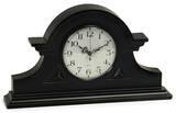 Chandler Black Antique Mantel Clock Home Accessories