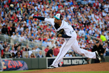 85th MLB All Star Game: Jul 15, 2014 - Felix Hernandez Photographic Print by Rob Carr