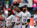 85th MLB All Star Game: Jul 15, 2014 - Aroldis Chapman Photographic Print by  Elsa