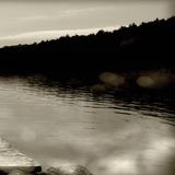 Twilight Dock IV Photographic Print