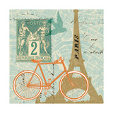 Postcard from Paris Collage Posters