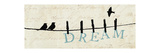 Birds on a Wire Giclee Print by Alain Pelletier