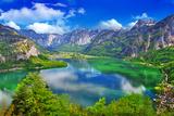 Amazing Alpine Lakes, Hallstatt, Austria Photographic Print by  Maugli-l