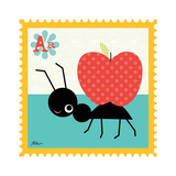 Animal Stamps - Ant Art by Jillian Phillips