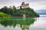 Medieval Niedzica Castle at Czorsztyn Lake in Poland Photographic Print by Patryk Kosmider
