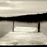 Twilight Dock III Photographic Print