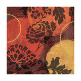 Floral Decal Spice III Poster