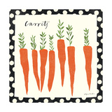 Simple Carrots Poster
