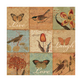 Live, Love and Laugh Giclee Print by  Pela