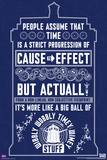 Doctor Who - Wibbly Wobbly Quote Posters
