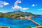 Beautiful Ischia Isalnd - View from Castel. Italy Photographic Print by  Maugli-l
