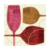 Colorful Wine III Prints by Jess Aiken