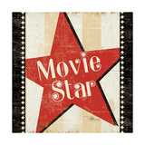 Movie Star with Border Giclee Print