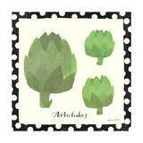 Simple Artichokes Giclee Print