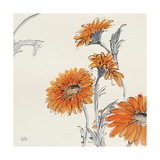 Orange Gerbera I Posters by Chris Paschke