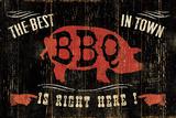 The Best BBQ in Town Poster von Jess Aiken