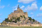Mont Saint Michel Abbey, Normandy / Brittany, France Photographic Print by  Zechal