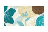 Floral Burst Panel I Giclee Print