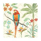 Tropical Paradise II Posters af Daphne Brissonnet