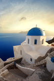 Church in Santorini Photographic Print by  olly2
