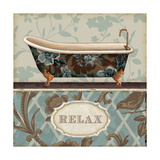 Bathroom Bliss I Poster par Lisa Audit