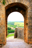 Ancient Fortifications of Tuscany Photographic Print by Jeni Foto