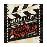 Action Thriller Giclee Print